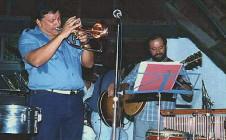 Con Arturo Sandoval
