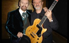 Con Horacio Ferrer