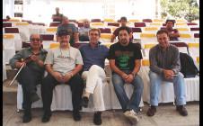 Con quinteto Suárez Paz