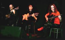 Con Carina Alfie y Daniel Telis