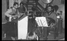 Con los Negros Saluzzi y González en el Viejo Jazz & Pop
