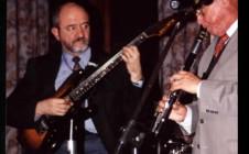 Con el saxofonista Don Burrows