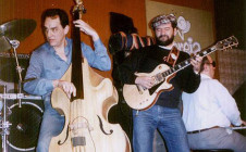 Con Horacio Larumbe y El Negro González