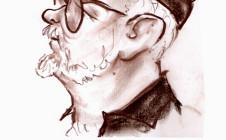 Caricatura obsequio del artista Néstor Merlo