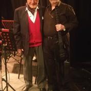 Con Roberto Carnaghi