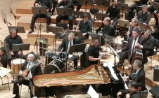 Con la Orquesta Filarmónica de Buenos Aires