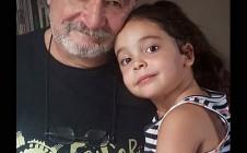 Con mi nieta Valentina