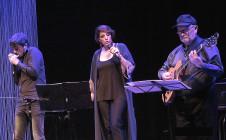 Ligia Piro , Franco Luciani y Yo en el Teatro del Picadero
