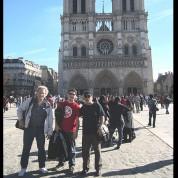 Loco el 22 en Notre Dame