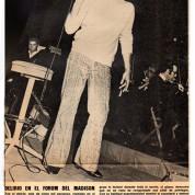 Sandro en el Madison 1970